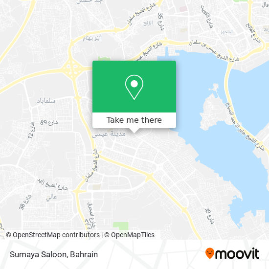 Sumaya Saloon map