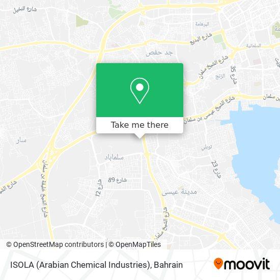 ISOLA (Arabian Chemical Industries) map