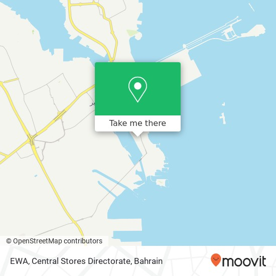EWA, Central Stores Directorate map