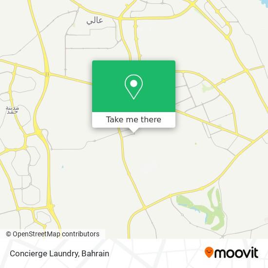 Concierge Laundry map