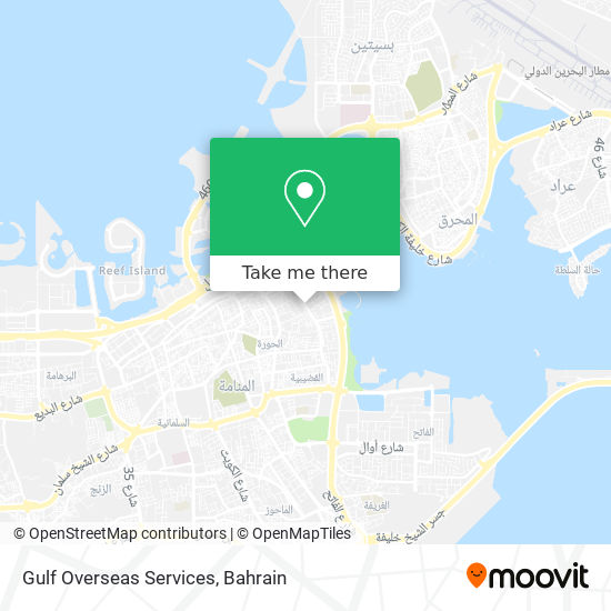 Gulf Overseas Services map