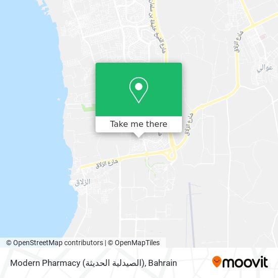 Modern Pharmacy (الصيدلية الحديثة) map