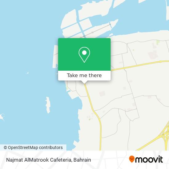 Najmat AlMatrook Cafeteria map