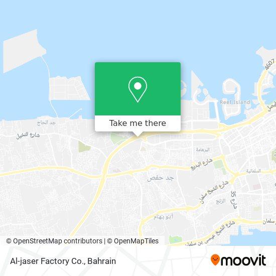 Al-jaser Factory Co. map