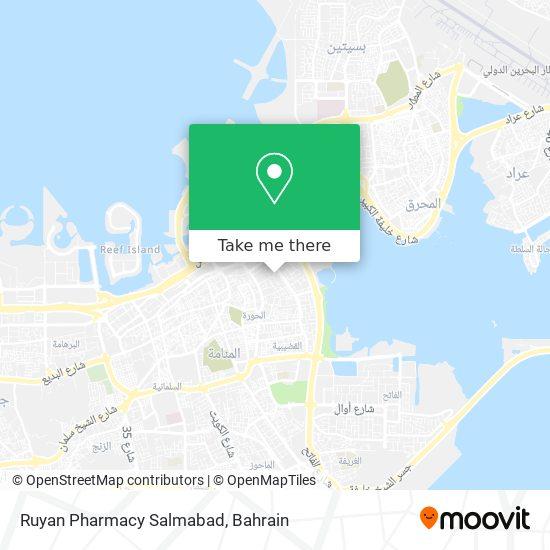 Ruyan Pharmacy Salmabad map