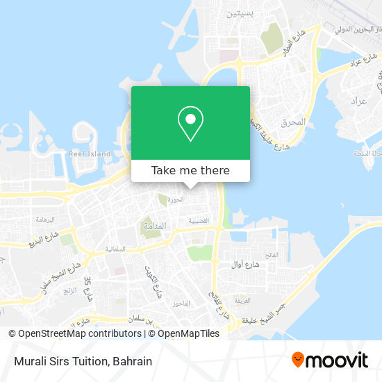Murali Sirs Tuition map