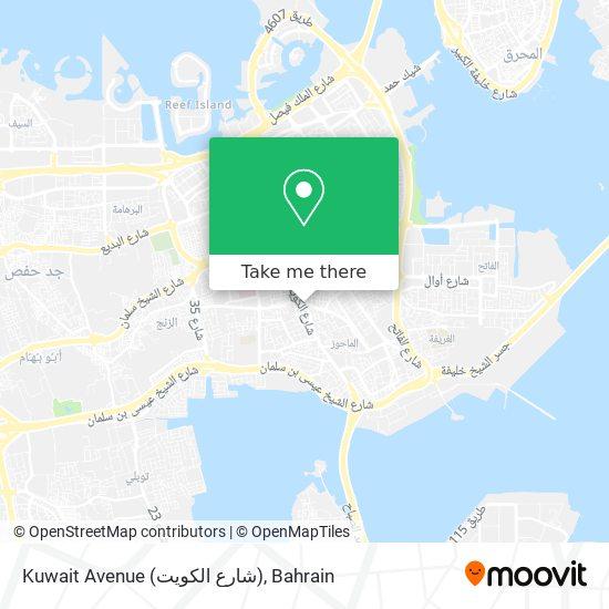 Kuwait Avenue (شارع الكويت) map