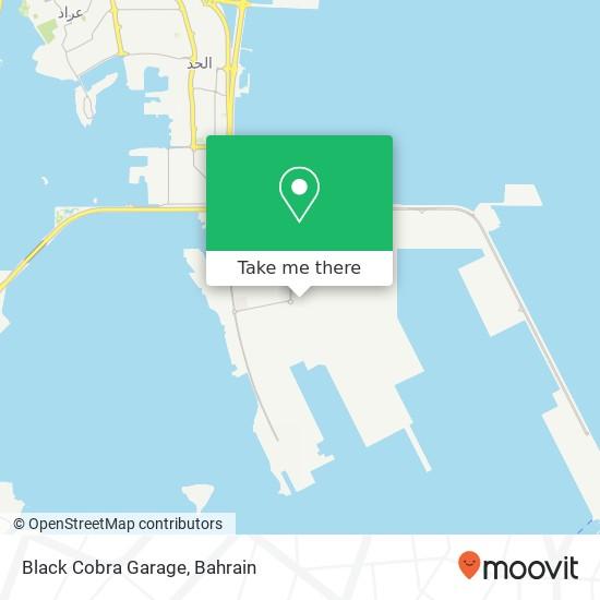 Black Cobra Garage map