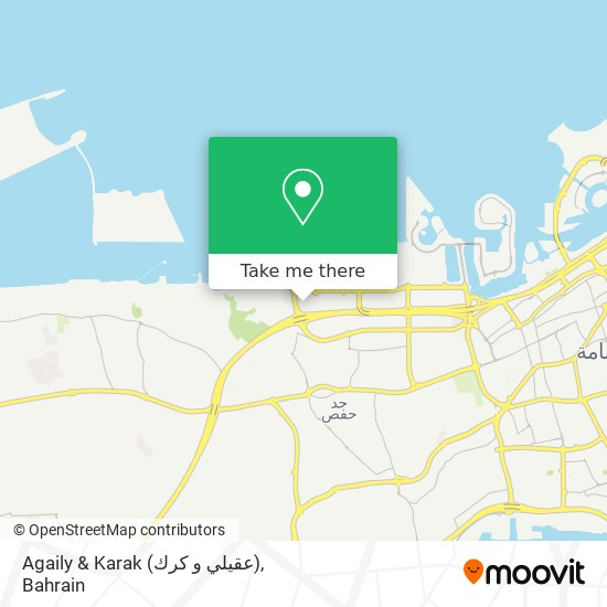 Agaily & Karak (عقيلي و كرك) map
