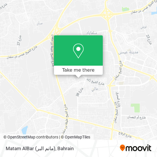 Matam AlBar (ماتم البر) map