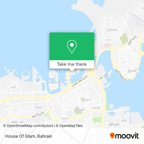 House Of Glam map