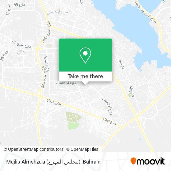Majlis Almehza'a (مجلس المهزع) map