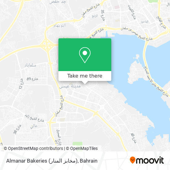 Almanar Bakeries (مخابز المنار) map