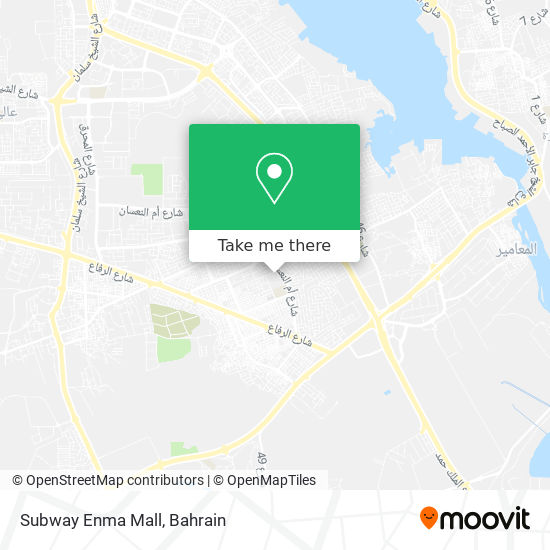 Subway Enma Mall map