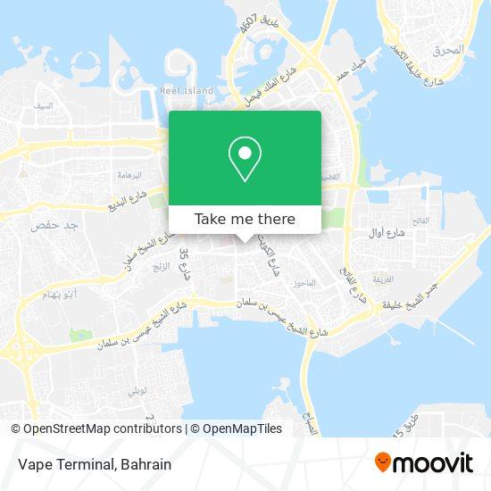 Vape Terminal map