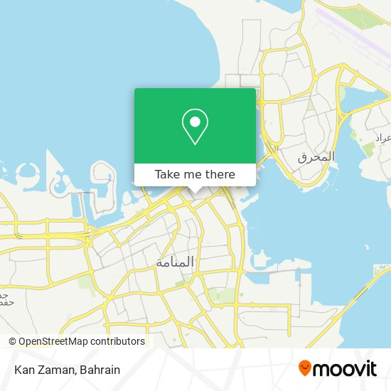 Kan Zaman map