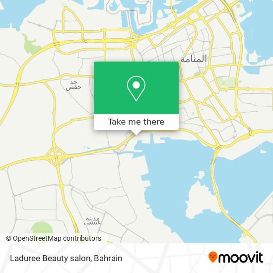 Laduree Beauty salon map
