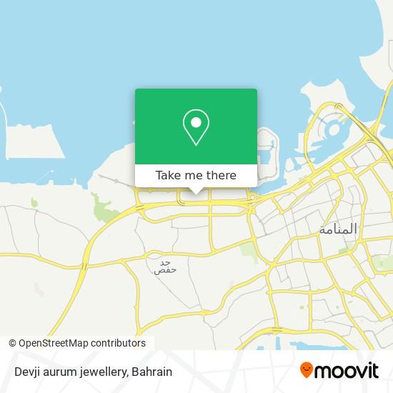 Devji aurum jewellery map