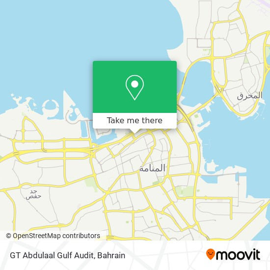 GT Abdulaal Gulf Audit map