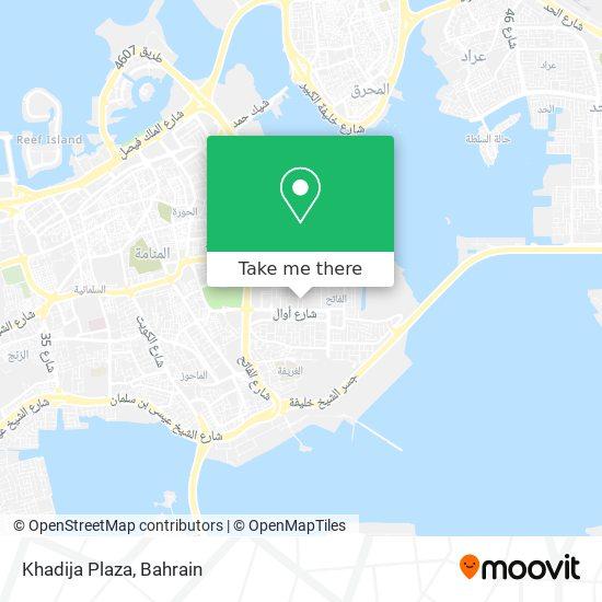 Khadija Plaza map