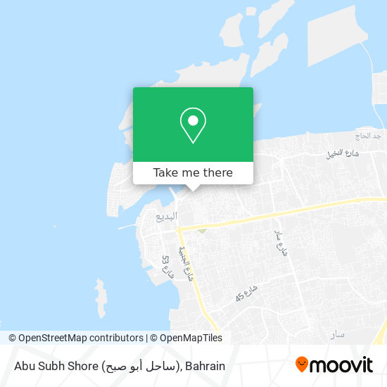 Abu Subh Shore (ساحل أبو صبح) map