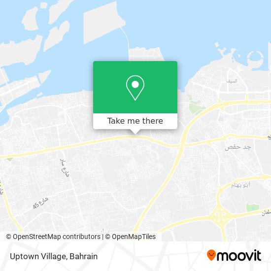 Uptown Village map