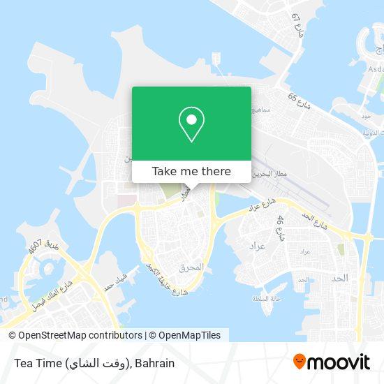 Tea Time (وقت الشاي) map