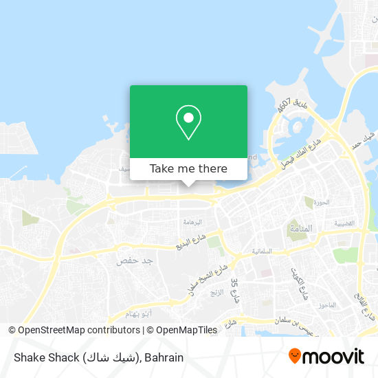 Shake Shack (شيك شاك) map
