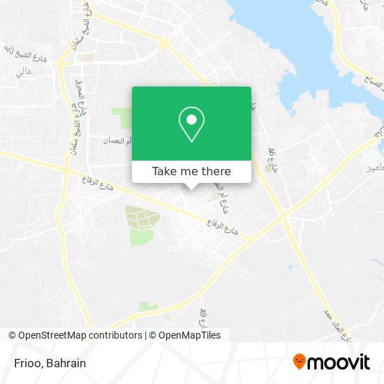 Frioo map