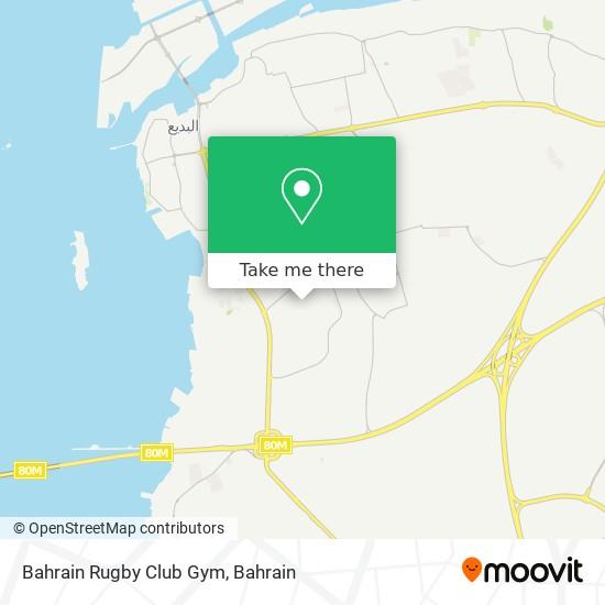 Bahrain Rugby Club Gym map