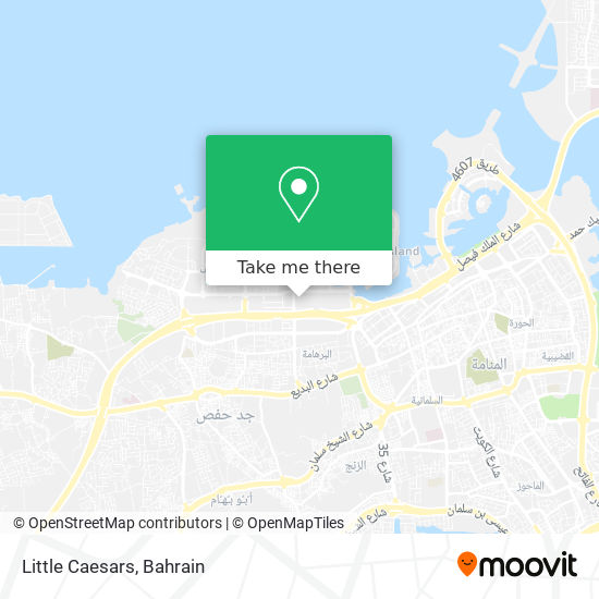 Little Caesars map