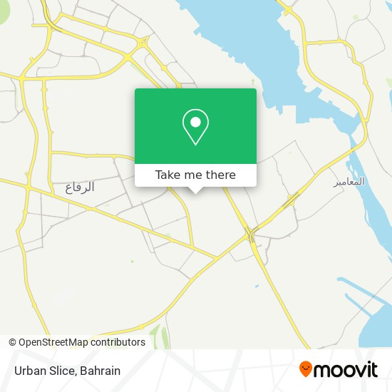 Urban Slice map