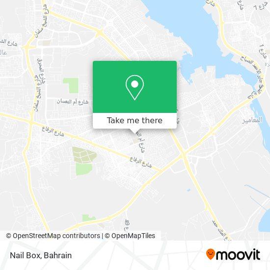 Nail Box map