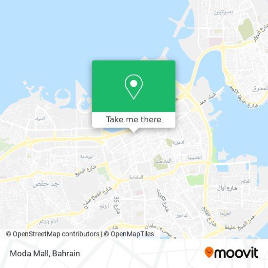 Moda Mall map