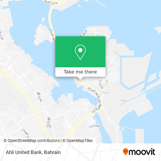 Ahli United Bank map