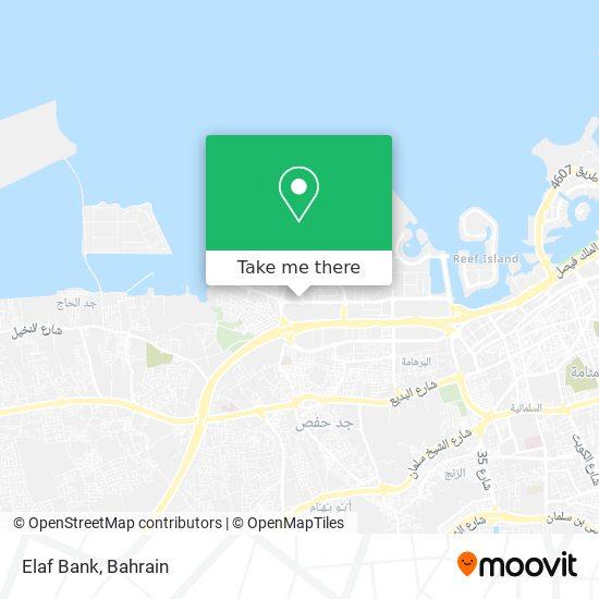 Elaf Bank map