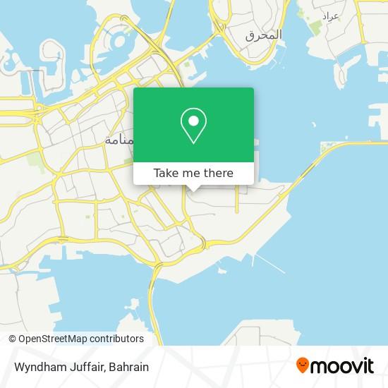 Wyndham Juffair map
