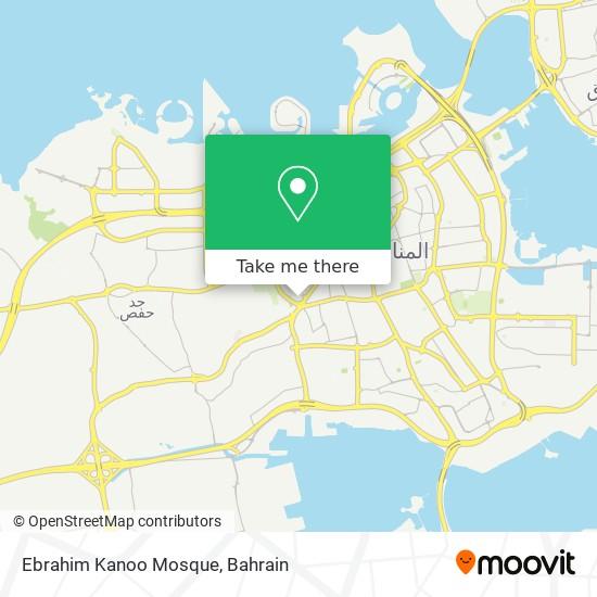 Ebrahim Kanoo Mosque map