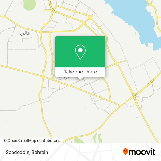 Saadeddin map