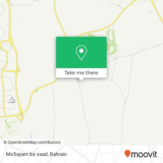 Mo5ayam bo saad map