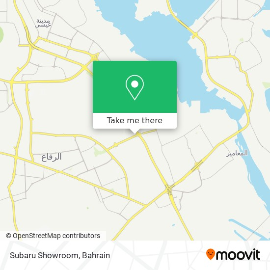Subaru Showroom map