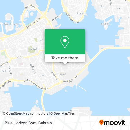 Blue Horizon Gym map