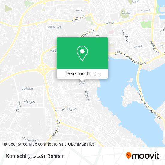Komachi (كماچي) map