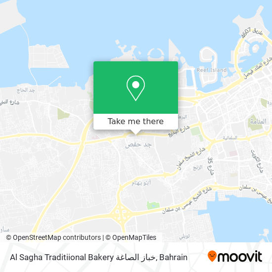 Al Sagha Traditiional Bakery خباز الصاغة map