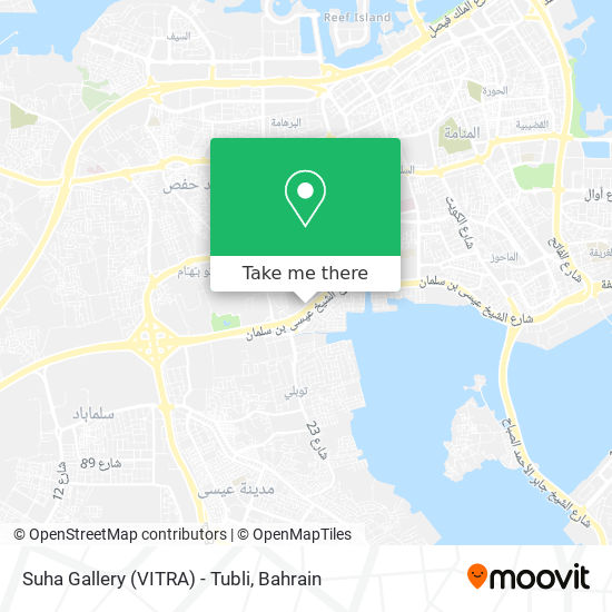 Suha Gallery (VITRA) - Tubli map