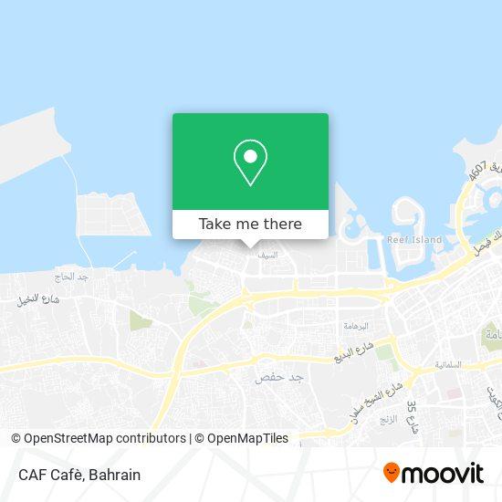 CAF Cafè map