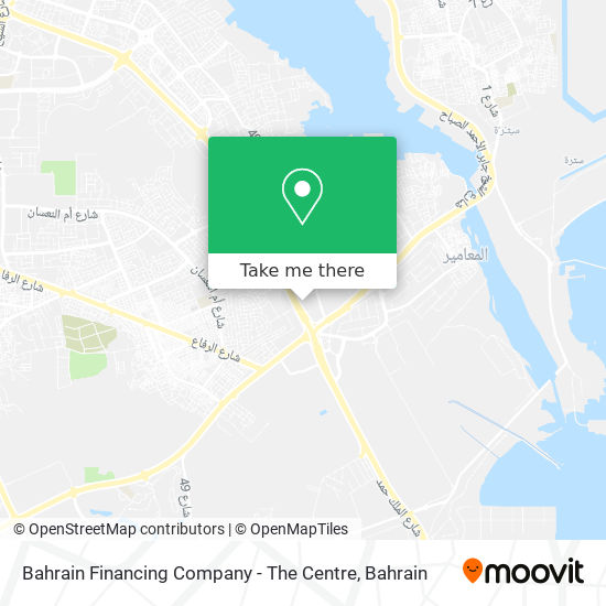 Bahrain Financing Company - The Centre map