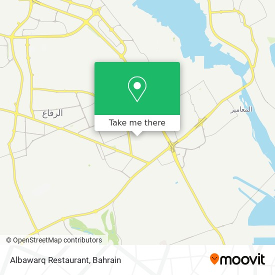 Albawarq Restaurant map
