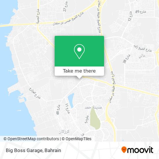Big Boss Garage map