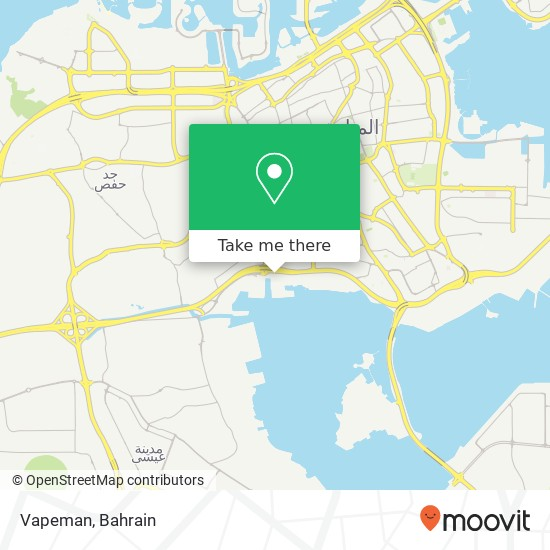 Vapeman map